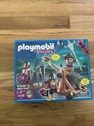 Playmobil 4438 Barbarian Catapult Attack Troop Viking Knight Brand New Sealed