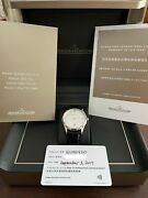 Jaeger-lecoultre Master Ultra Thin Date Ref. 1238420 With Box And Papers