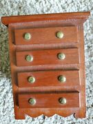 Vintage Dresser Drawer Coin Bank Used Ship Daily