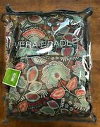 Vera Bradley 20 Foldable Carry-on Rolling Suitcase In Nomadic Floral