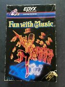 Vintage Epyx Computer Games Fun With Music Vic-20 Complete W/box