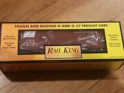 Mth Railking Louisville And Nashville Rounded Roof Boxcar 3 O Gauge Landn 30-7008c