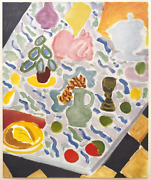 Henri Matisse Rare 1946 Lmtd Edition French Lithograph Print Table Marbre 1941