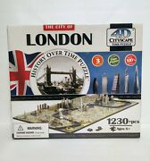 New Sealed - Collectible 4d Cityscape Jigsaw Puzzle - City Of London