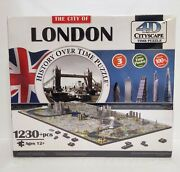 Brand New Collectible 4d Cityscape Jigsaw Puzzle - City Of London