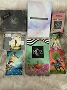 Oop,light Seer's Tarot Deck Lot W Both 10 Of Swords, Signed And Numbered Htf.