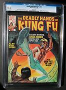 Deadly Hands Of Kung-fu 20 2nd White Tiger 1976 Chuck Norris Iron Fist Cgc 9.6
