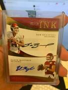2018 Immaculate Baker Mayfield Sam Bradford Dual Auto Autograph /10 Sooners
