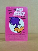 Vintage1976 Sealed Whitman Ther Road Runner Card Game 4923