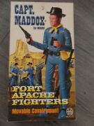 Marx Johnny West Captain Maddox Complete Mint Factory Sealed Accessories -