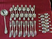 Christofle Homemaker 37 Cutlery Metal Silver Model Marly 2