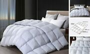 Down And Feather Comforter All Year Around Color King King-106x90inches Pewter