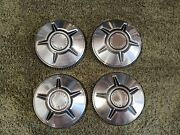 60and039s 70and039s Ford Truck Torino Ranchero Dog Dish Hubcaps Stainless Steel 10.5 Inch