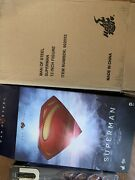 Hot Toys Man Of Steel Superman Mms200 Collectors Edition No Returns Accepted