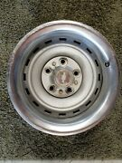 Chevy Gmc Gm Truck Rally Wheel 5 Lug 15x8 Steel Used With Ring And Cap