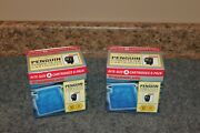 Lot-2 Boxes Marineland Rite-size A Filter Cartridge 6-packs Penguin 100 And Mini