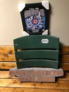 Chicago Cubs Wrigley Field Bricks And Back Seat