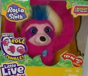 Little Live Pets Rollo The Sloth Interactive Plush Toy Unisex Kids Play Fun Toy