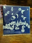 Vintage Ted Naos Christmas Village Ornaments And Decorations 36 Die-cut