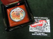 2014 Australian Spider-hunting Scorpion 1 Oz Silver Proof Coin