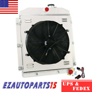 3-rows Radiator Shroud Fan Relay For 1947-1954 53 52 Chevy 3100 3600 3800 Pickup