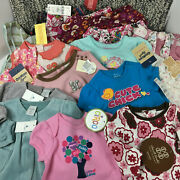 0-3 3 3-6 Month Baby Girl Clothing Lot Bodysuits Tops Bottoms 21 Pieces All New