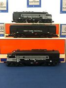 Lionel New York Central F-3 Aba Diesel Engine Set W/ Railsounds And Tmcc 6-14552