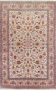 Antique Vegetable Dye Traditional Oriental Area Rug Kork Wool Hand-knotted 9x14