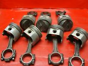 7 Oem Gm 302 Chevy Forged Pistons And Connecting Rods 68-69 Camaro Z/28 3927172