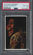 1972 Aretha Franklin Psa 6 Daily Express Sound 72 Pop 1 Only Graded Example