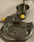 Reed And Bartonsomething Duckistainless Steelduck Trayduck Cupset Of 2