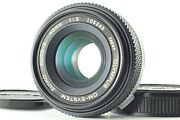 【top Mint Late】 Olympus Om System Zuiko Auto S 40mm F/2 Pancake Lens From Japan