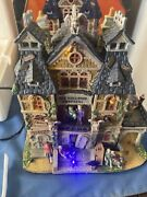 Lemax Spooky Town Halloween All Hallows Hospital Works Video See Description