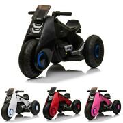 4 Color 3 Wheel Kids Ride On Motorcycle 6v Battery Powered Electric Bicycle Gift