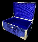 Trunk Very Rare Travel In Austro Hungary Sterling Silver
