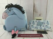Loungefly Disney Winnie The Pooh Eeyore Cosplay Backpack And Wallet Nwt
