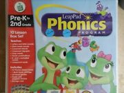 341 Books Leap Pad Leap Frog Used 10 Lesson Box Set W/book Cartridgeguides No