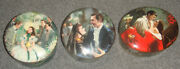 Gone With The Wind Music Boxes - Ardleigh Elliott And Sons - 1990and039s - Lot Of 3