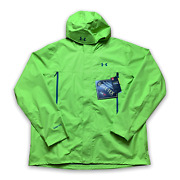 Under Armour Menand039s Storm 3 Waterproof Jacket Reflective Windproof Loose Size 3xl