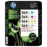 Hp 564xl Photo And Ink Cartridge Tri-color And Photo Black, Combo Pack 0742