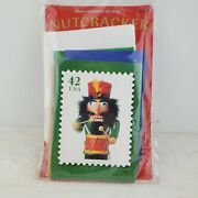 20 Nutcracker 42 Cents Embossed Christmas Cards Usps Limited Edition 2017
