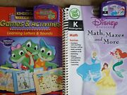 345 Books Leap Pad Leap Frog 11 Used 1 New Leap Tries Again, What Will You Be,