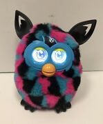 Furby Boom 2012 Hasbro Blue, Pink And Black Talking Interactive Toy Works Rare
