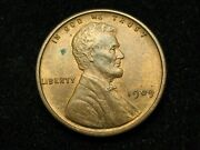 Summer Sale Bu 1909-p Vdb Wheat Cent Penny Collectible Condition Coin 184