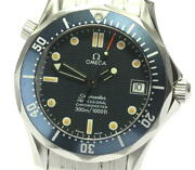 Omega Seamaster Professional 300m Mid Size Automatic Date Watch 2551.80 Used