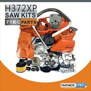 Chainsaw Complete Repair Parts For Husqvarna 372xp Crankcase Fuel Tank Cylinder