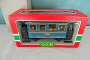 Lgb 3013 Lighted Voiture Restaurant Dining Passenger Car W/ People, G Scale