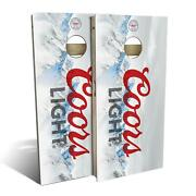 Coors Light Beer Cornhole Boards - The Perfect Christmas Gift