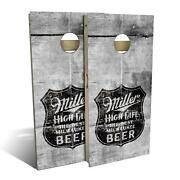 Miller High Life Beer Cornhole Boards - The Perfect Christmas Gift