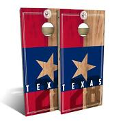 Texas State Flag 2.0 Cornhole Boards - The Perfect Christmas Gift